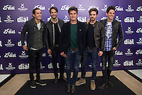 Dvicio music band poses during Cadena Dial music awards presentation in Madrid, Spain. February 05, 2015. (ALTERPHOTOS/Victor Blanco) /NORTEphoto.com
