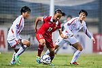 China PR plays against DPR Korea during the AFC U-16 Women's Championship China 2015 Semi Final match at the Xinhua Road Stadium on 12 November 2015 in Wuhan, China. Photo by Aitor Alcalde / Power Sport Images