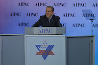 March 3, 2013  (Washington, DC)  Israeli Defense Minister Ehud Barak addresses the Sunday afternoon plenary session of the 2013 AIPAC Policy Conference.  (Photo by Don Baxter/Media Images International)