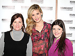 Mare Winningham & Maggie Grace & Madeleine Martin attending the Meet & Greet for the Roundabout Theatre Company's 'Picnic' at their rehearsal studios  in New York City. November 29, 2012.