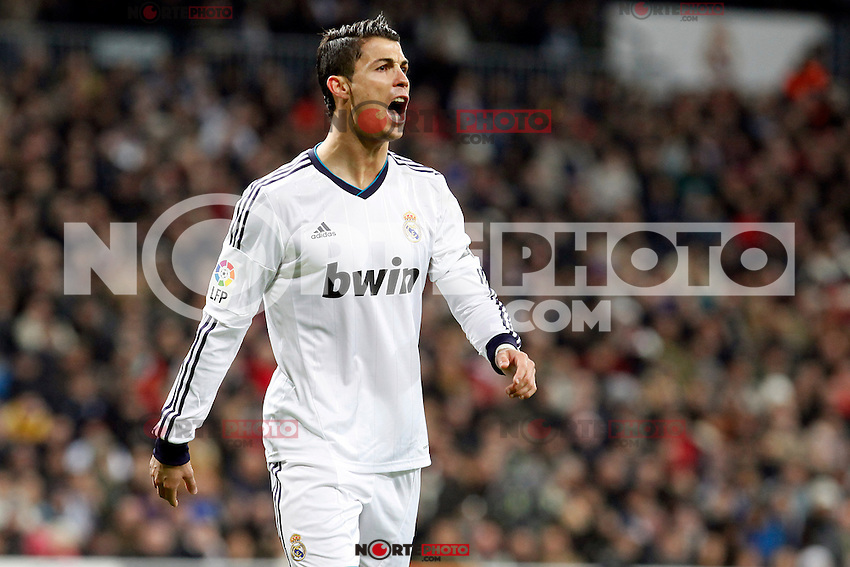 Cristiano Ronaldo during La Liga Match. December 01, 2012. (ALTERPHOTOS/Caro Marin)