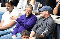 FLUSHING NY- SEPTEMBER 10: Bill Gates at the US Open Men's Final Championship match at the USTA Billie Jean King National Tennis Center on September 10, 2017 in Flushing, Queens. <br /> CAP/MPI/PAL<br /> &copy;PAL/MPI/Capital Pictures