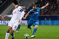 Gonzalo Higuain Juventus <br /> Moscow 06-11-2019 Stadion Lokomotiv <br /> Football Champions League 2019/2020 Group D  <br /> Lokomotiv Moscow - Juventus <br /> Photo Federico Tardito / Insidefoto