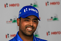 Anirban Lahiri (IND) during the preview of the Hero Indian Open at the DLF Golf and Country Club on Wednesday 7th March 2018.<br /> Picture:  Thos Caffrey / www.golffile.ie<br /> <br /> All photo usage must carry mandatory copyright credit (&copy; Golffile | Thos Caffrey)