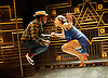 A Harlem Dream <br /> (The Maria)<br /> part of Dance Umbrella 2014 <br /> at the Young Vic Theatre, London, Great Britain <br /> press photocall <br /> 23rd october 2014 <br /> <br /> choreography by Ivan Blackstock <br /> <br /> Birdgang dance company <br /> <br /> <br /> Ivan Blackstock<br /> Robia Milliner Brown <br /> <br /> <br /> Photograph by Elliott Franks <br /> Image licensed to Elliott Franks Photography Services