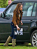 "WHISTLING KATE - Catherine, Duchess of Cambridge whistles to Lupo to draw his attention..KATE HAS FAMILY DAY WITH PRINCES WILLIAM AND HARRY AT POLO.Catherine, Duchess of Cambridge joined Princes William and Harry extended family at the Polo..They included Zara Phillips and husband Mike Tindall, Peter Phillips, Autumn and children Savannah and Isla..Kate and William also brought along their new puppy Lupo to the event..The Princes were playing in a charity polo match at Beaufort, Gloucestershire_17/06/2012.Mandatory Credit Photo: ©NEWSPIX INTERNATIONAL..**ALL FEES PAYABLE TO: ""NEWSPIX INTERNATIONAL""**..IMMEDIATE CONFIRMATION OF USAGE REQUIRED:.Newspix International, 31 Chinnery Hill, Bishop's Stortford, ENGLAND CM23 3PS.Tel:+441279 324672  ; Fax: +441279656877.Mobile:  07775681153.e-mail: info@newspixinternational.co.uk"