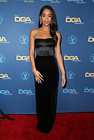 02 February 2019 - Hollywood, California - Laura Harrier. 71st Annual Directors Guild Of America Awards held at The Ray Dolby Ballroom at Hollywood & Highland Center. Photo Credit: F. Sadou/AdMedia