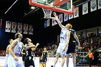 GRONINGEN - Basketbal, Donar - Apollo Amsterdam, Martiniplaza,  Dutch Basketbal League, seizoen 2018-2019, 11-11-2018,  score van Donar speler Jobi Wall