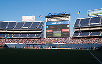 San Diego, CA - July 30, 2017: The USWNT defeated Brazil 4-3 during the Tournament of Nations at Qualcomm Stadium.