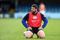 Lucas Noguera of Bath Rugby looks on during the pre-match warm-up. Gallagher Premiership match, between Bath Rugby and Wasps on May 5, 2019 at the Recreation Ground in Bath, England. Photo by: Patrick Khachfe / Onside Images