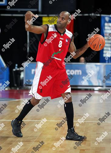 2008-01-08 / Basketbal / Uleb Cup / Antwerp Giants - Hapoel Galil Elyon / Mike Campbell (Elyon)..Foto: Maarten Straetemans (SMB)