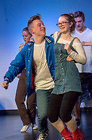 A dress rehearsal was held for the musical Footloose being put on by the St. Patrick's High School