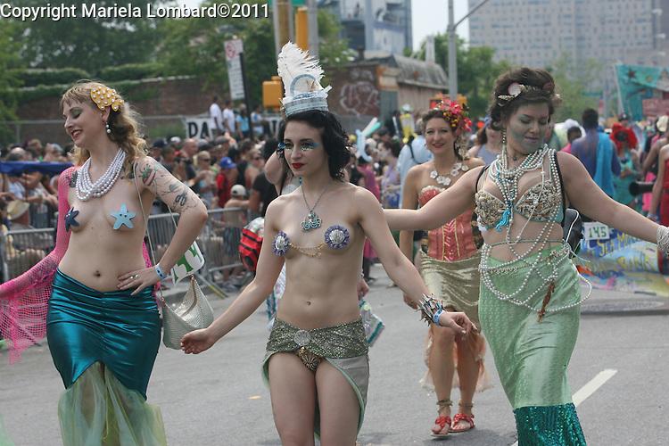 Mermaid Parade in Coney Island - Brooklyn - 2011.