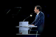Washington, DC - March 21, 2016: U.S. Sen. Ted Cruz speaks before an estimated 18,000 attendees of the AIPAC Policy Conference at the Verizon Center in the District of Columbia, March 21, 2016. AIPAC is engaged in promoting and protecting the U.S.-Israel relationship to enhance security for both countries. (Photo by Don Baxter/Media Images International)