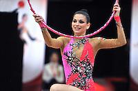 "February 7, 2014 - Tartu, Estonia - DORA VASS of Hungary performs at ""Miss Valentine 2014"" international tournament."
