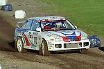 Pix: Shaun Flannery/shaunflanneryphotography.com...COPYRIGHT PICTURE>>SHAUN FLANNERY>01302-570814>>07778315553>>..1995 Network Q RAC Rally..19th November - 22nd November 1995..Kenneth Eriksson and Staffan Parmander..Mitsubishi Lancer Evo III Mitsubishi Ralliart