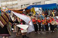 15.02.2010 La Paz (Bolivia)<br /> <br /> Parade in the streets during the carnival.<br /> <br /> D&eacute;fil&eacute; dans les rues pendant le carnaval.