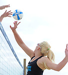 A few images from a shoot with the Tulane Sand Volleyball Team at Coconut Beach.