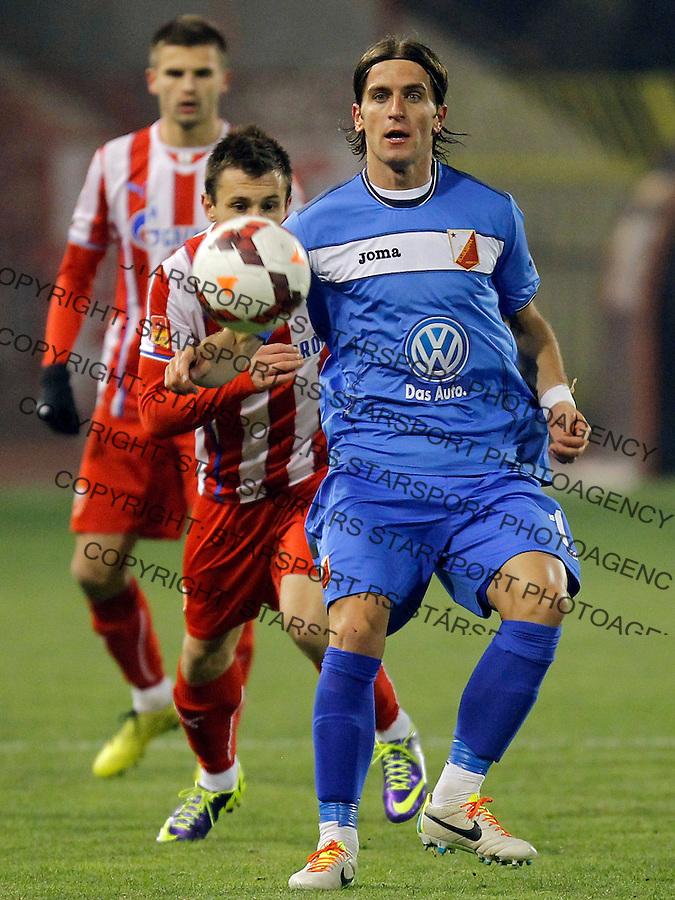 Fudbal Kup Srbije season 2013-2014<br /> Crvena Zvezda v Vojvodina<br /> Stojan Vranjes <br /> Beograd, 04.12.2013.<br /> foto: Srdjan Stevanovic/Starsportphoto &copy;