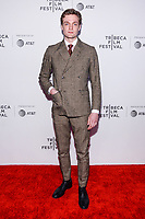 "NEW YORK CITY - APRIL 20: Lucas Arthur Englander attends National Geographic's ""Genius: Picasso"" red carpet event at the Tribeca Film Festival at the BMCC Tribeca Performing Arts Center on April 20, 2018 in New York City. (Photo by Anthony Behar/National Geographic/PictureGroup)"