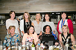 Suzanne Murphy from Tralee celebrating a significant birthday with friends on Saturday night. Front l-r Teresa O'Donoghue, Sarah Quinn, Suzanne Murphy, Mary Claire Crosby, Annette Barry, Caroline McDonald, Sarah Quirke  Melissa Perry and Joan Moriarty.