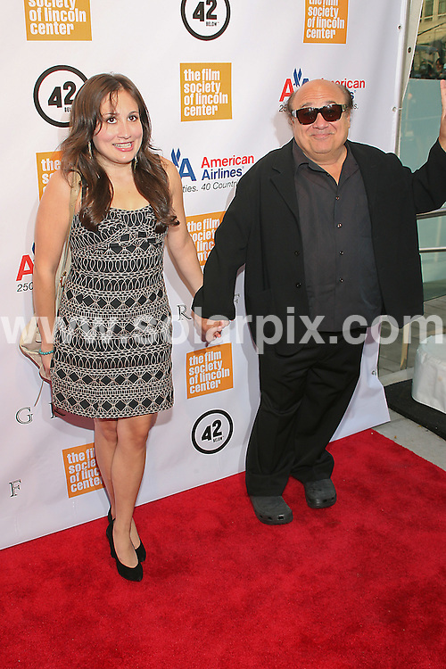 **ALL ROUND PICTURES FROM SOLARPIX.COM**.**SYNDICATION RIGHTS FOR UK, AUSTRALIA, DENMARK, PORTUGAL, S. AFRICA, SPAIN & DUBAI (U.A.E) & ASIA (EXCLUDING JAPAN) ONLY**.37th Annual Chaplin Award Gala Honoring Michael Douglas - Arrivals, Alice Tully Hall, Lincoln Center, 1941 Broadway at 65th Street, NY, USA, 24 May 2010.This pic: Danny Devito.JOB REF: 11308    PHZ gaboury   DATE: 24_05_2010.**MUST CREDIT SOLARPIX.COM OR DOUBLE FEE WILL BE CHARGED**.**MUST NOTIFY SOLARPIX OF ONLINE USAGE**.**CALL US ON: +34 952 811 768 or LOW RATE FROM UK 0844 617 7637**