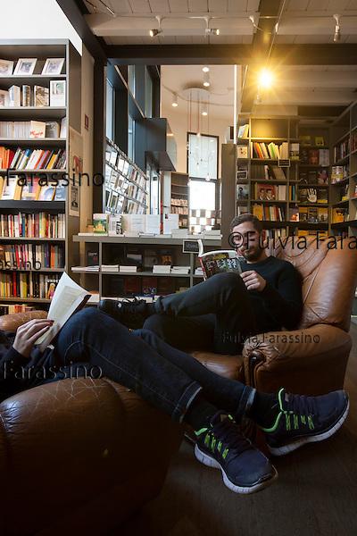 Milano, 8 marzo 2015 Libreria Gogol - via Savona 101<br /> Gogol bookstore