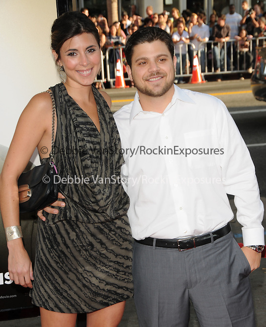 "Jamie-Lynn Sigler & Jerry Ferrara at The Warner Brother Pictures' L.A. Premiere of ""The Hangover"" held at The Grauman's Chinese Theatre in Hollywood, California on June 02,2009                                                                     Copyright 2009 Debbie VanStory / RockinExposures"
