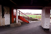 23/06/2000 Blackpool FC Bloomfield Road Ground..View underneath the south west stand......© Phill Heywood.