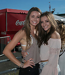 Nicole Becker and Brittany Leonard during the Dustin Lynch Concert at the Reno Rodeo on Wednesday, June 14, 2017.