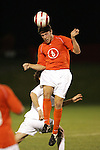 1 November 2006: Clemson's Havird Usry (6). Virginia defeated Clemson 2-0 at the Maryland Soccerplex in Germantown, Maryland in an Atlantic Coast Conference college soccer tournament quarterfinal game.
