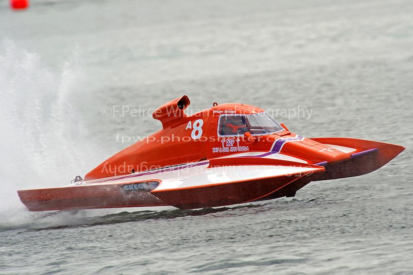 Tom Bergman, A-8  (2.5 MOD class hydroplane(s)