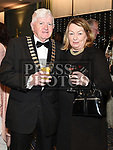 Cathaoirleach of County Meath Tom Kelly and his wife Helena at the Drogheda Business Excellence Awards in City North Hotel. Photo:Colin Bell/pressphotos.ie