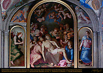 Lamentation Bronzino Chapel of Eleonora Apartment of the Elements Palazzo Vecchio Florence