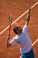 08-07-13, Netherlands, Scheveningen,  Mets, Tennis, Sport1 Open, day one, Boy Westerhof (NED)<br /> <br /> <br /> Photo: Henk Koster