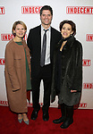 Celia Keenan-Bolger, Tom Kitt and Judy Kuhn attends the Broadway Opening Night Performance of  'Indecent' at The Cort Theatre on April 18, 2017 in New York City.