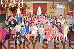 Caroline and Phillip Brosnan, Lee Drive, Tralee (seated centre) who had their baby boy Darren christened in St Brendan's Church, Tralee last Saturday afternoon by Fr Patsy Lynch and celebrated after with family and friends in the Imperial hotel, Tralee.
