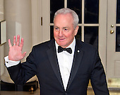 Lorne Michaels, Executive Producer, Saturday Night Live arrives for the State Dinner in honor of Prime Minister Trudeau and Mrs. Sophie Gr&eacute;goire Trudeau of Canada at the White House in Washington, DC on Thursday, March 10, 2016.<br /> Credit: Ron Sachs / Pool via CNP