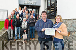 Front Eamon Courtney and Anne Byrnes with residence from Muckross Road Area at the Kerry Council meeting in the Killarney Library last Wednesday.