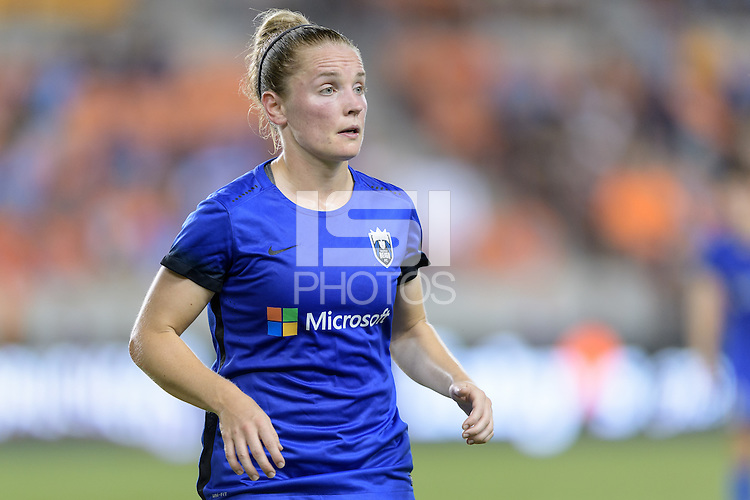 Houston, TX - Sunday Sept. 25, 2016: Kim Little during a regular season National Women's Soccer League (NWSL) match between the Houston Dash and the Seattle Reign FC at BBVA Compass Stadium.