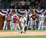 Hideki Matsui (Yankees), MAY 24, 2014 - MLB : Former New York Yankees player Hideki Matsui competes in the Home Run Derby before the Hall of Fame Classic baseball game in Cooperstown, New York, United States. (Photo by AFLO)