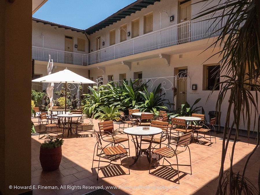 Courtyard at Hotel La Ronda, Trinidad