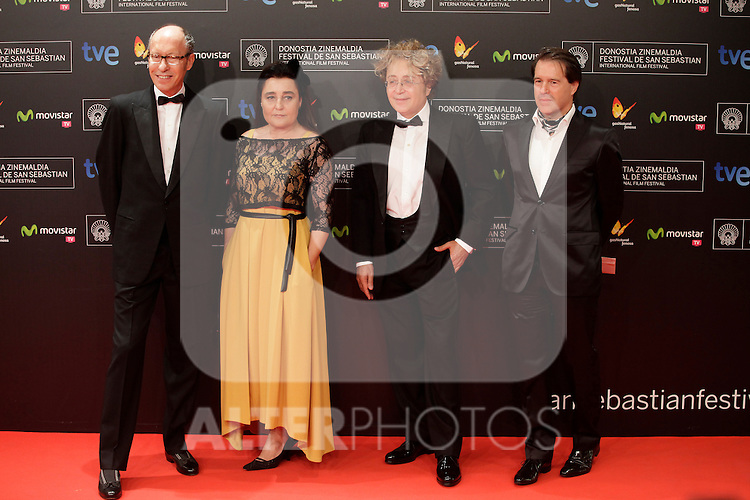 Vittorio & Luccino posse in the photocall before the closing ceremony during the 61st San Sebastian Film Festival in the Northern Spanish Basque city of San Sebastian on September 27, 2013. (ALTERPHOTOS/Victor Blanco)