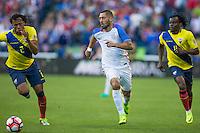 Seattle, WA - June 16, 2016: The U.S. Men's National team defeat Ecuador 2-1 in Quarterfinal action at the 2016 Copa America Centenario at CenturyLink Field.