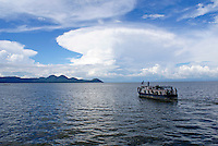 Passenger ferry on Lake Managua, Nicaragua