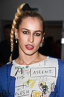 Alice Dellal<br /> at the Ashley Williams AW17 show as part of London Fashion Week AW17 at 180 Strand, London.<br /> <br /> <br /> &copy;Ash Knotek  D3230  17/02/2017