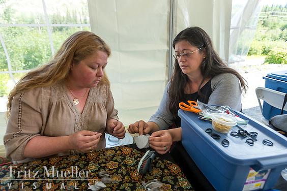 Adaka Cultural Festival 2016, Whitehorse, Yukon, Canada, Yukon First Nation Culture and Tourism Association, Kwanlin Dun Cultural Centre, Sarah McHugh, Lena White
