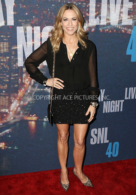 WWW.ACEPIXS.COM<br /> <br /> February 15 2015, New York City<br /> <br /> Sheryl Crow arriving at the SNL 40th Anniversary Special at the Rockefeller Plaza on February 15, 2015 in New York<br /> <br /> By Line: Nancy Rivera/ACE Pictures<br /> <br /> <br /> ACE Pictures, Inc.<br /> tel: 646 769 0430<br /> Email: info@acepixs.com<br /> www.acepixs.com