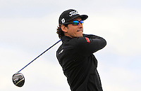 Rafa Cabrera-Bello (ESP) on the 15th tee during Round 4 of the 2015 Alfred Dunhill Links Championship at the Old Course in St. Andrews in Scotland on 4/10/15.<br /> Picture: Thos Caffrey | Golffile