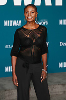 "LOS ANGELES - NOV 5:  Adina Porter at the ""Midway"" Premiere at the Village Theater on November 5, 2019 in Westwood, CA"